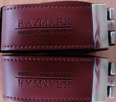 exemple d'embossage sur clés usb publicitaire cuir